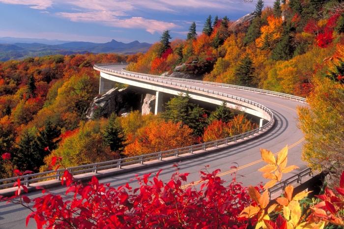 Fall Linn Cove Viaduct